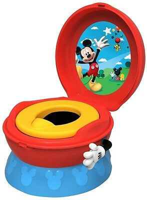 Tomy Disney Mickey Mouse Potty First Years System Training 3 1 Red Blue Boys Cha