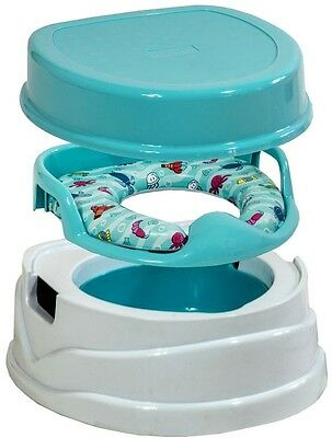 Babylo Soft Potty Trainer Higher Seating Position Baby Toddler Child Toilet Seat