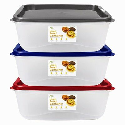 10PC VENTED FOOD Storage Containers Plastic Storage Boxes Microwave