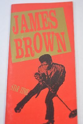 JAMES BROWN Star Time Box  set Book Only 1991