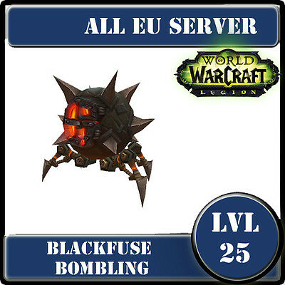 WoW Pet EU--Blackfuse Bombling--lvl25--Mascotte WoW--
