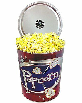 Fifth Avenue Gourmet 3.5 Gallon Buttered Popcorn Tin, 8 Pound