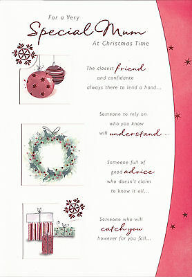 Christmas Card for a Very Special Mum