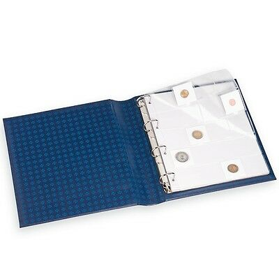 High Quality Coin Album Pages 20 Pockets 2x2 Pack Clear Grande Archival Free USA