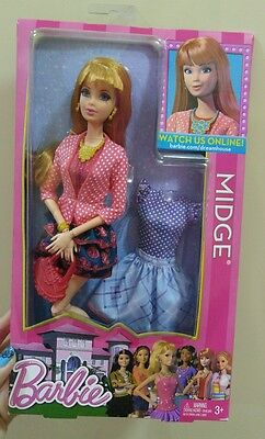 Barbie Dream House Midge NIB special face eyelashes articulated
