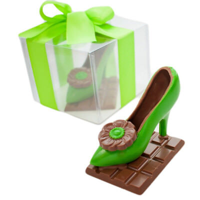 New Modern Stiletto Lime chocogram gifts him her christmas