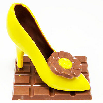 New Modern Stiletto Citrine chocogram gifts him her christmas