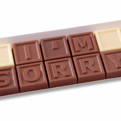 New I'm Sorry Chocolates chocogram gifts him her christmas
