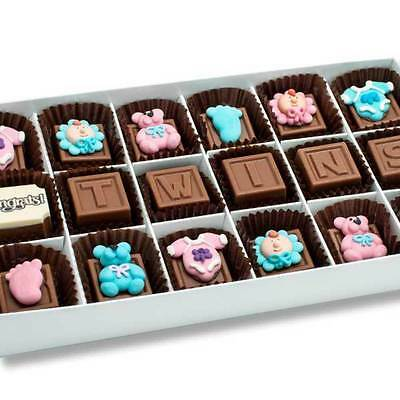 New Newborn Twins Gifts chocogram gifts him her christmas