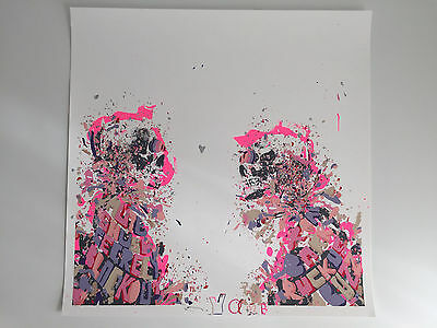 Ya by Kelsey Brookes (hand finished limited edition screen print)