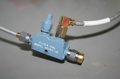 narda Microwave RF Directional Coupler 7-12.4 GHz 10dB 1.2dB 28.2dB Tested