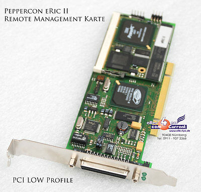 REMOTE CONTROL PEPPERCON eRIC II REMOTE MANAGEMENT PCI LOW PROFILE CARD -B451
