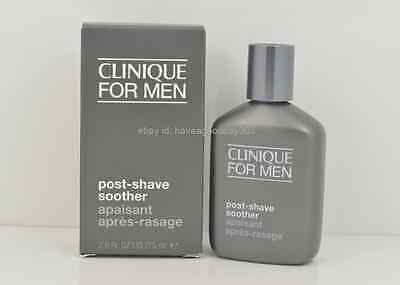 Clinique for Men Post-Shave Soother Full Size 75 ml/ 2.5 oz Brand New in Box