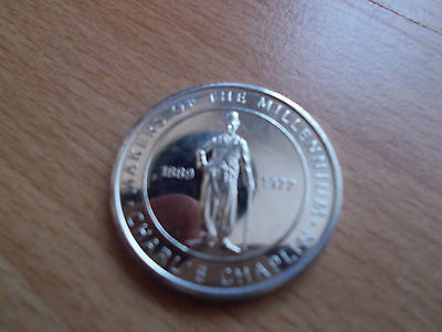 Highly Collectible Millennium Commemorative Coin - CHARLIE CHAPLIN
