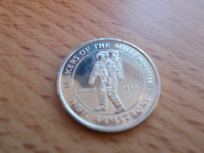 Highly Collectible Millennium Commemorative Coin - NEIL ARMSTRONG