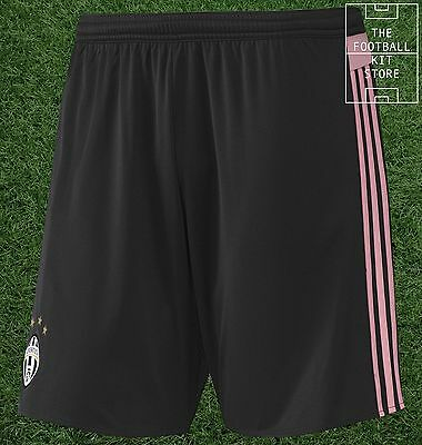 Juventus Away Shorts - Official Adidas Football Shorts - All Sizes