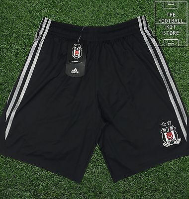 Besiktas Away Shorts - Official Adidas Turkish Football Shorts - All Sizes