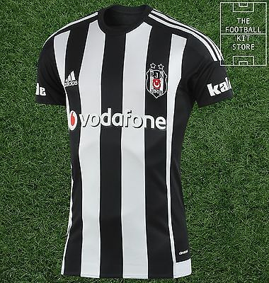 Besiktas Away Shirt - Official adidas Turkish Football Jersey - Mens - All Sizes