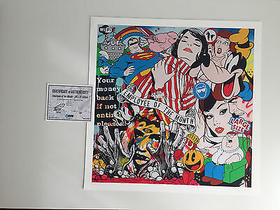 Employee of the Month by Ben Frost (limited edition Archival Pigment print)