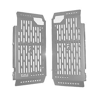 Force Accessories radiator guards silver Yamaha YZ250F all 2014-2017
