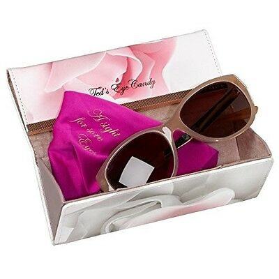 New Womens Ted Baker Porcelain Rose Sunglasses Glasses Case Holiday Present Gift