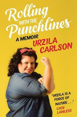 NEW Rolling with the Punchlines By Urzila Carlson Paperback Free Shipping