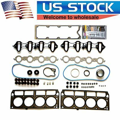 Head Gasket Set For 4.8L 5.3L Chevrolet Colorado Tahoe GMC Canyon OHV 16 Valve