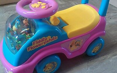 Fifi and the flowertots ride on rare musical song dancing fifi figures car toy