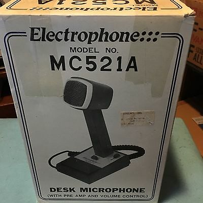 Electrophone desk microphone MC521A