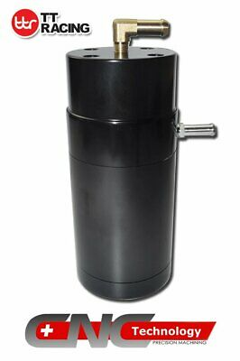 0.5L Oil Catch Can For Holden Commodore Ls1 Ls2 Ls3 Vt Vx Vy Vz Ve & Ve V6 Black