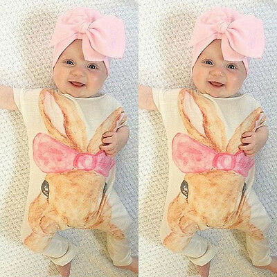 Newborn Kids Girl Baby Clothes Bodysuit Jumpsuit Romper Sleepsuit Outfit Clothes