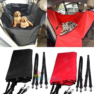Travel Car Seat Hammock Cover Protector Safety Mat Waterproof for Pet Dog Cat A