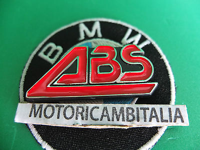 Bmw Moto Motorcycle K100 K75 51142315052 Abs Stemma Badge Decal Plaquette