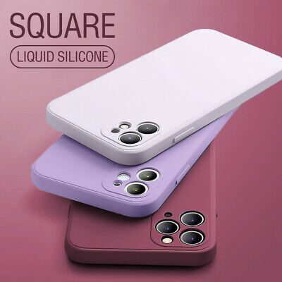 For iPhone 11 Pro MAX XS XR 8 + Ultra Thin Slim Clear Transparent Crystal Case