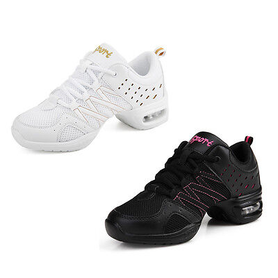 Women Dancing Shoes Hip Hop Jazz Gymnastic Sports Foot Wear Trainer Sneakers