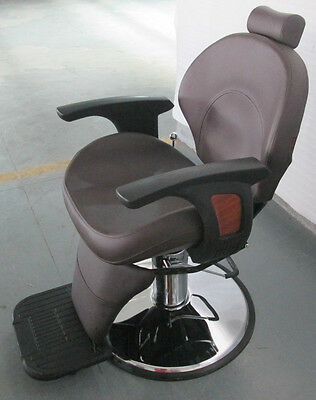 New HEAVY DUTY BROWN BARBER CHAIR BX-2696