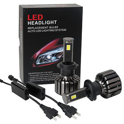Wholesale H7 80W 8000LM CREE LED Headlight Kit Bulbs 6000K Replace Halogen Xenon