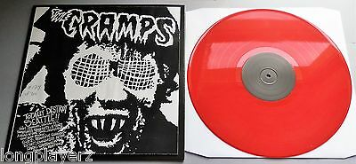 The Cramps - Totally Destroy Seattle Limited Red Vinyl LP