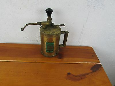 Dron-Wal Compressed Air Sprayer Vintage British Made Brass Finish Great Look