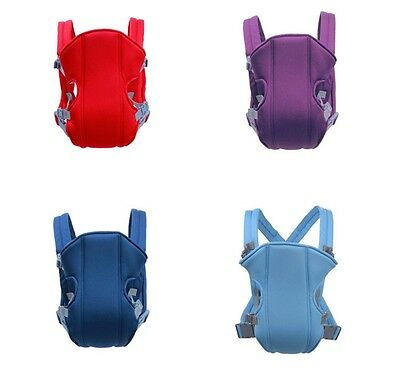 Adjustable Infant Baby Carrier Wrap Sling Newborn Backpack Breathable Ergonomic