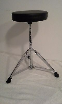 NEW Drum Throne Stool Adjustable Height Easy Assembly, Drum bench + FREE DRUMKEY