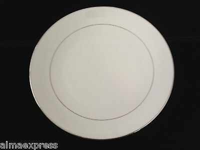 Mikasa Fine China Celebrity Japan Pattern 5428 White w/ Platinum SERVING PLATTER