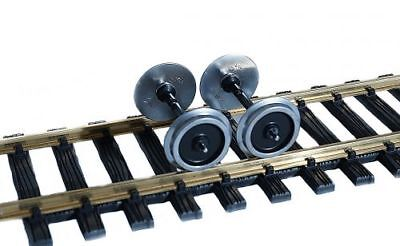 Zenner Wheel set metal 35 mm Gauge 2 (64mm) for Conversion Yami on Regular track