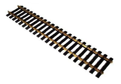 4 straight Brass track 600 mm Regular 64mm, Gauge 2, for the Garden railway