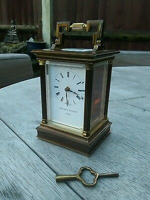 Stunning matthew norman carriage clock
