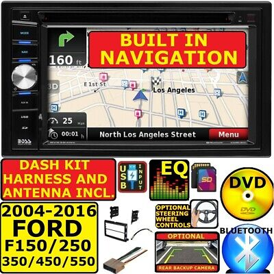 2004-2016 FORD F250/350/450/550 BLUETOOTH DVD CAR Stereo GPS NAVIGATION SYSTEM