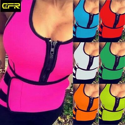 Women Quality Neoprene Spontaneous Sauna Shaper Slimming / body shape Vest HT