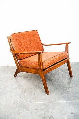 Mid Century Modern lounge Chair Armchair Fort Smith Chair Co. Danish Vintage MCM