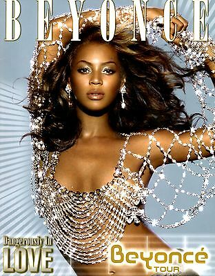 Beyonce 2003 Dangerously In Love Tour Concert Program Book