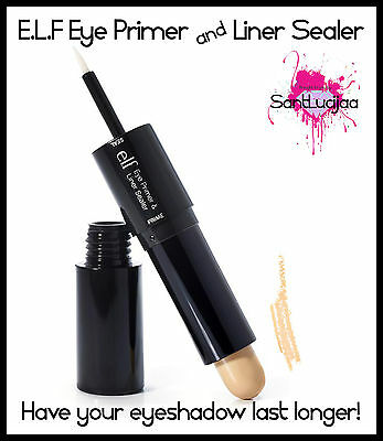 E.l.f Elf Eye Primer & Liner Sealer Eyeshadow Last Long Longer Nude Eyeliner